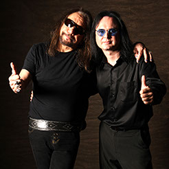 Ace Frehley and John Ostrosky Guitar World Studios, New York, NY, 2009