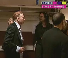 "Axl Rose and John Ostrosky, MTV ""Video Music Awards,"" Radio City Music Hall, New York, NY, 2006"