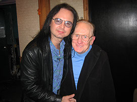 John Ostrosky and Les Paul, The Iridium, New York, NY, 2006